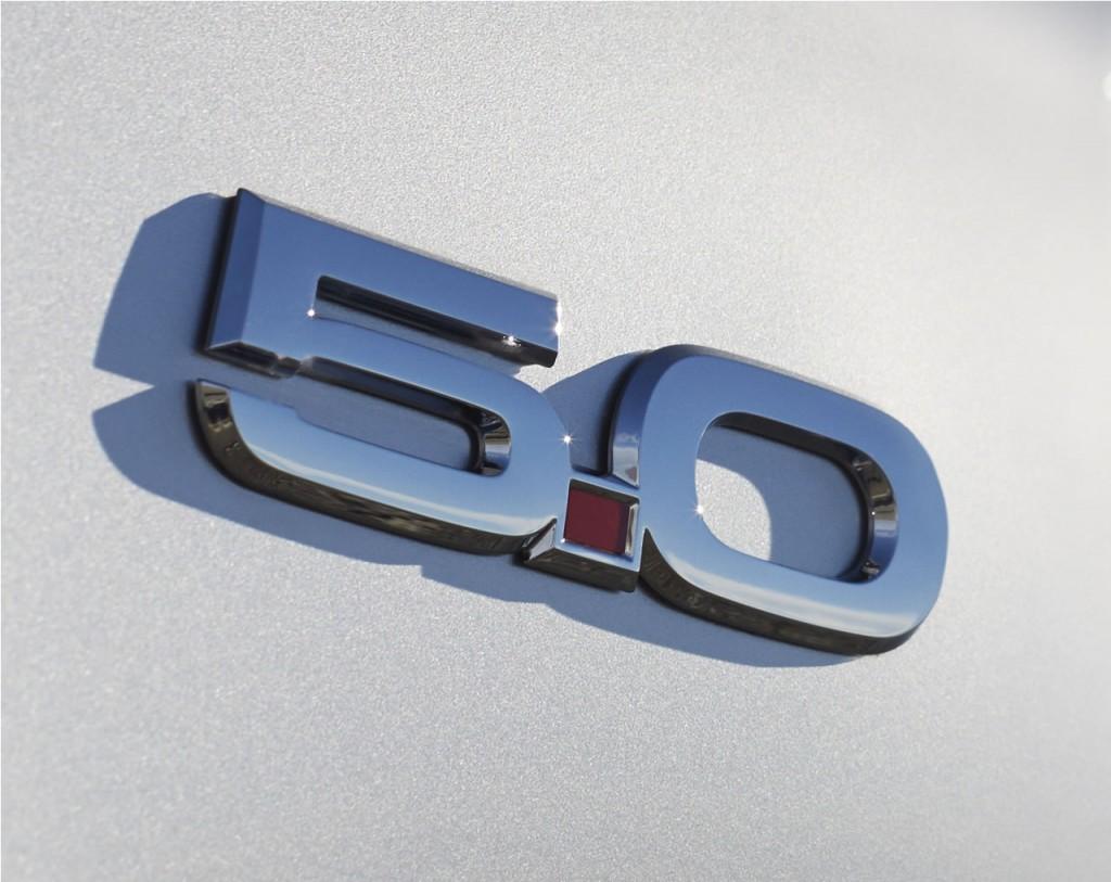 2015 Mustang 5.0 Fender Badge