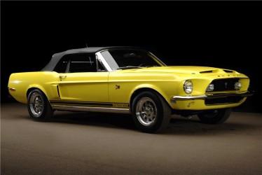 Lot#5010 - 1968 Shelby GT500KR Convertible (20K original miles)