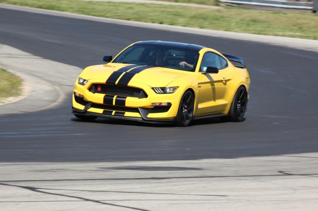Shelby® GT350R Mustang at Grattan Raceway