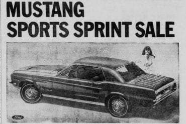 1967 Ford Mustang Centennial Sports Sprint