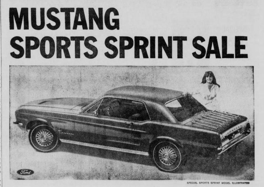1967 Ford Mustang Centennial Sports Sprint