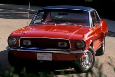 1968 Ford Mustang Cardinal Edition