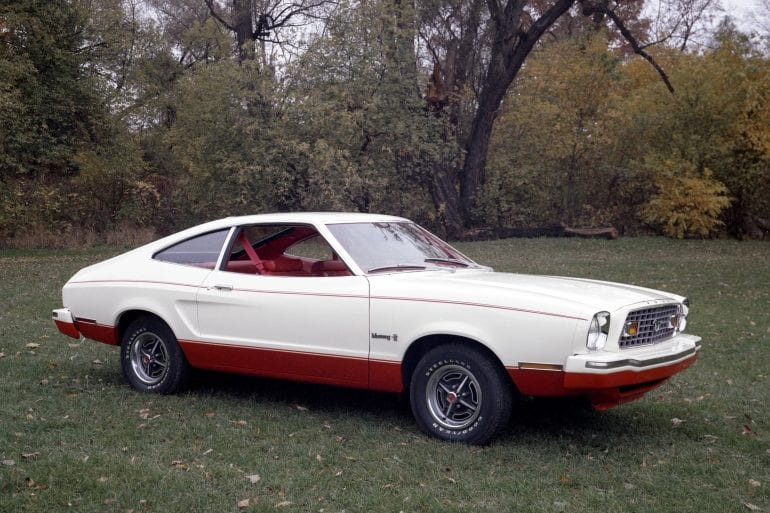 1976 Ford Mustang II 2+2