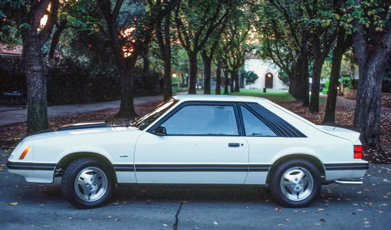 1983 ford mustang Turbo GT