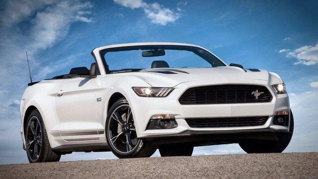 2016 Mustang GT/CS California Special