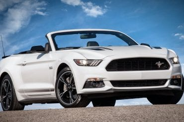 2016 Mustang GT/CS California Special