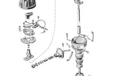 66 Mustang Distributor - 8 Cylinder
