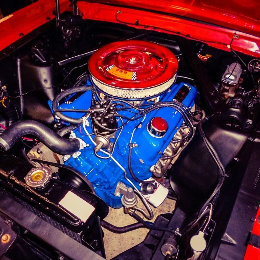 1966 Mustang Engine Info & Specs - 289 Windsor V8   Specs Ford 289 Engine Diagram      Mustang Specs
