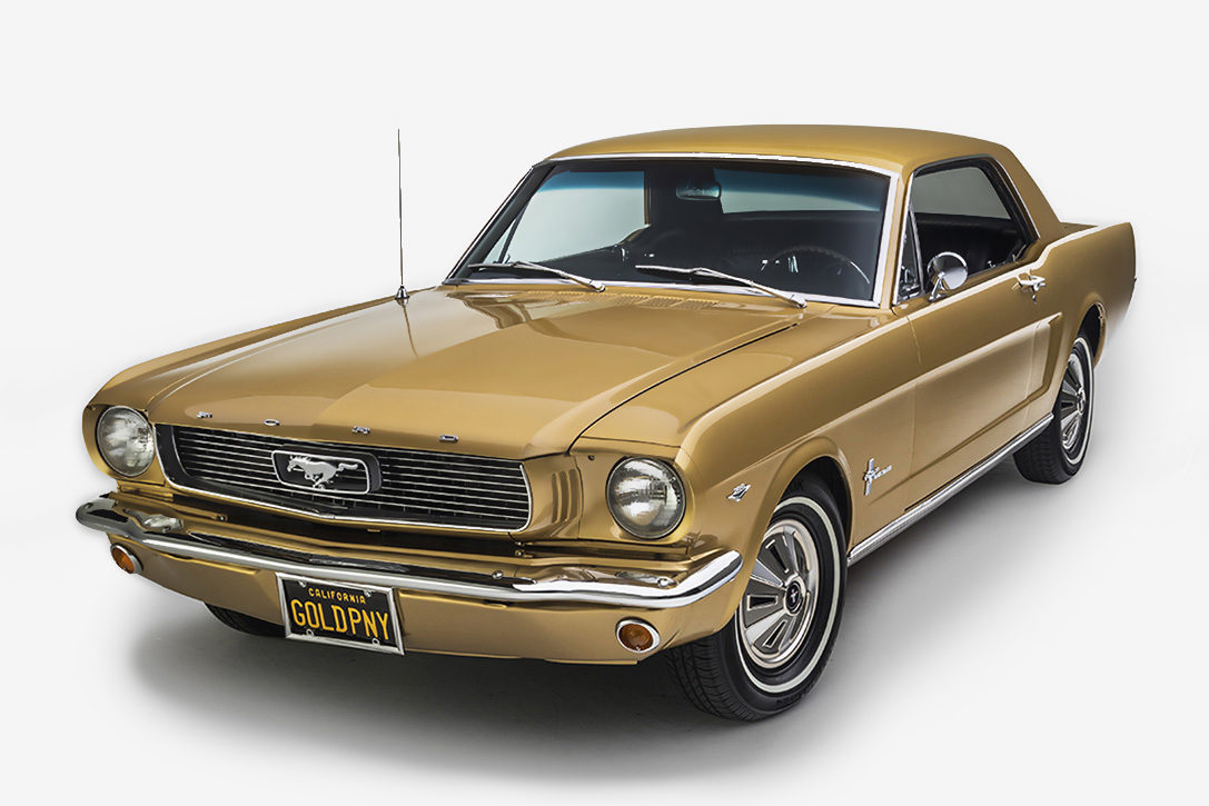 Mustang Anniversary Gold Edition
