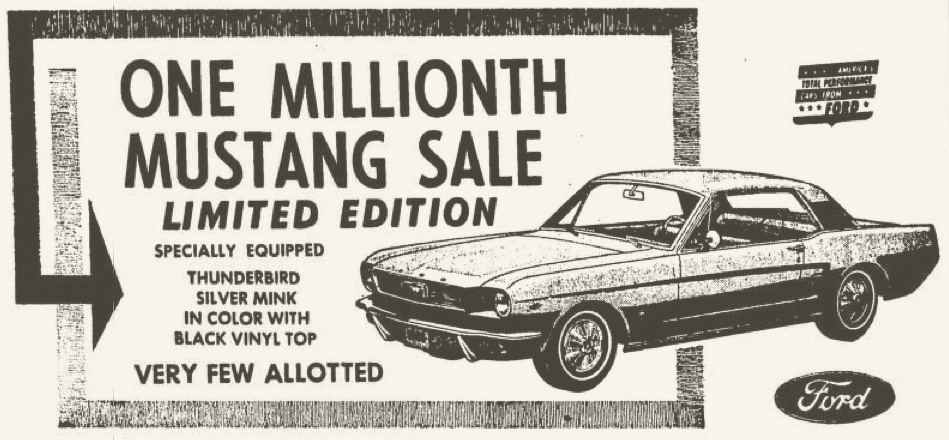 Territorial Mustang Specials