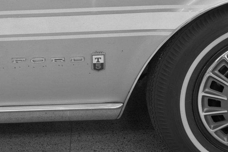 German Ford T5 Badge