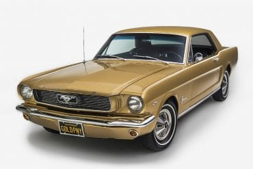 1966 Anniversary Gold Mustang