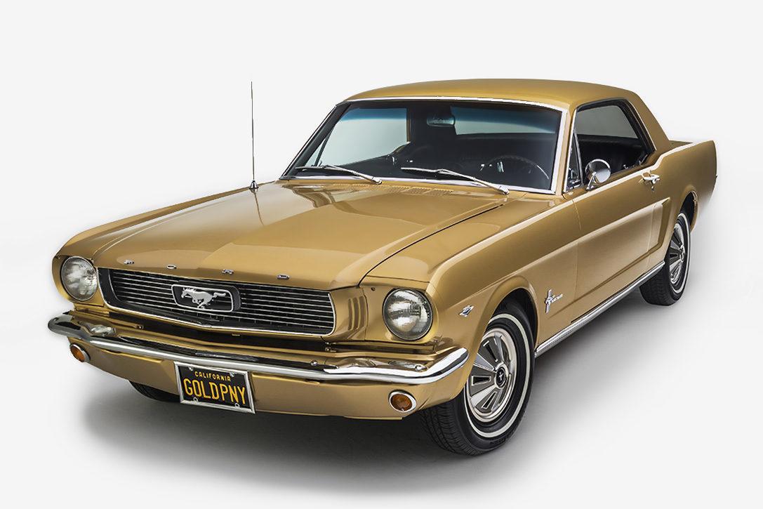 1966 Anniversary Gold Mustang