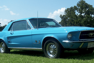 1967 Blue Bonnet Special