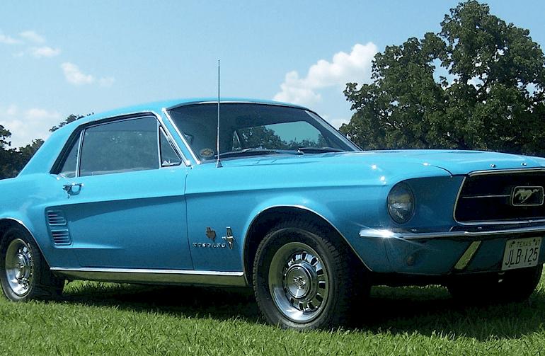 1967 Blue Bonnet Special