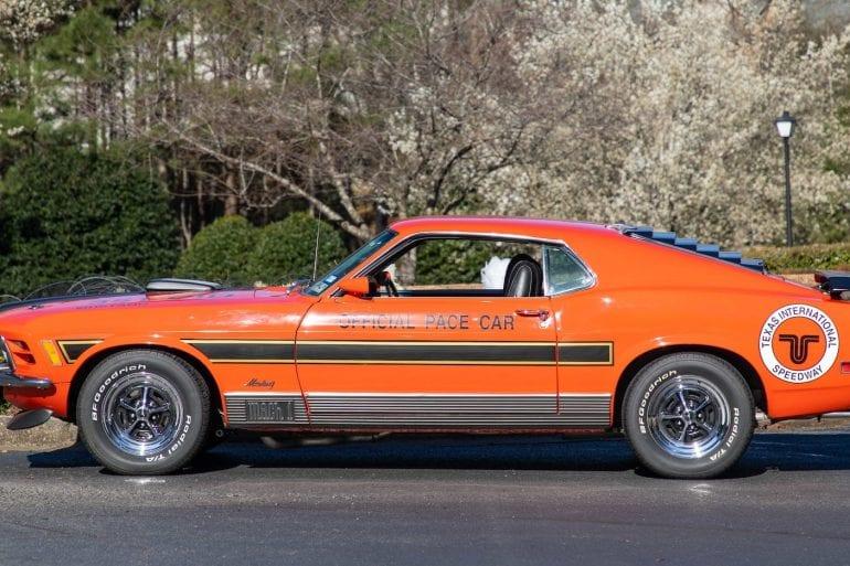 1970 Ford Mustang Mach 1 ARI Pace Car