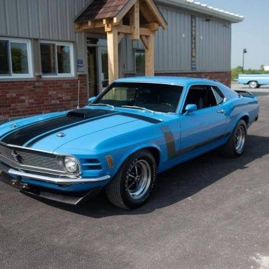 1970 Mustang Body