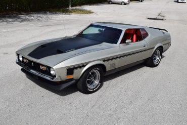 1971 Mustang Body