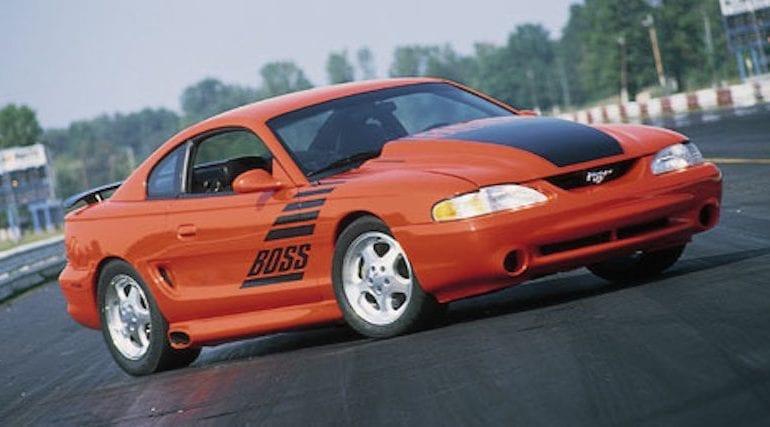 1994 10.0L Boss Mustang
