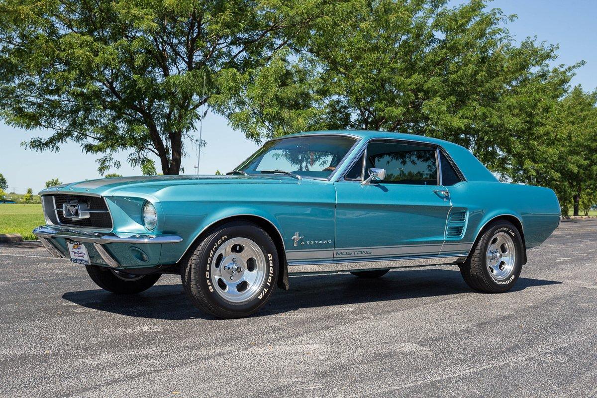 1967 Mustang Colors