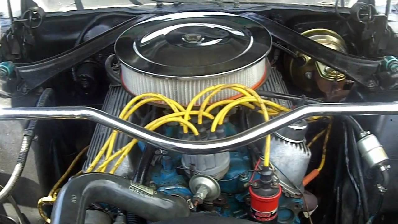 1968 Mustang Engine 289 Specs