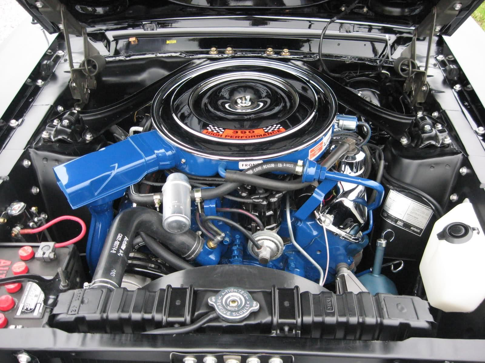 1968 Mustang Engine Information & Specs - 390 Cubic Inch V-8