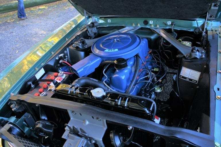 1969 Mustang Engine Information & Specs - 250 Cubic Inch Inline 6