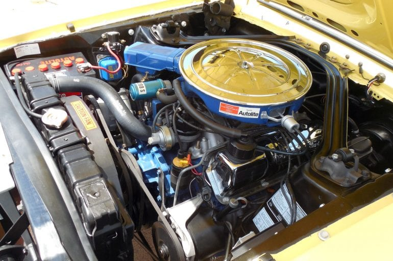 1969 Mustang Engine Information - 302 cubic inch V-8 & Boss 302