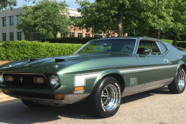 1972 Mustang Color Information