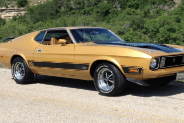 1973 Mustang Color Information