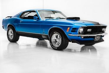 1970 Mustang Color Information