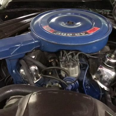 1971 Mustang 302 Engine