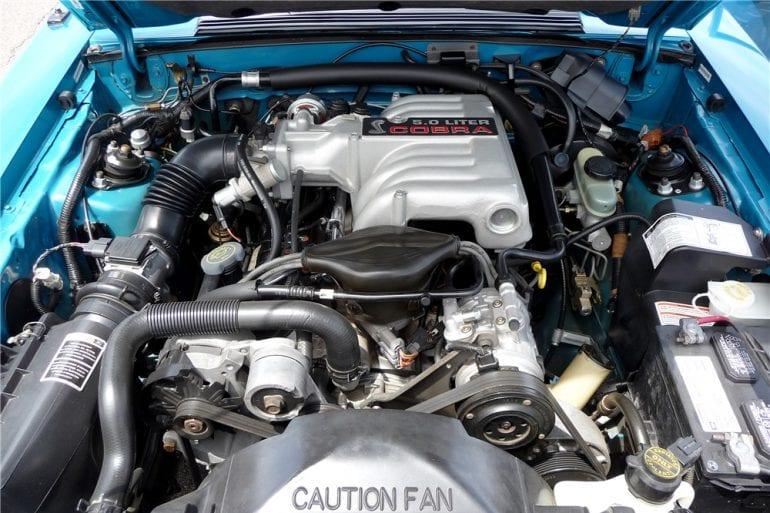 1993 Mustang 5.0 engine cobra