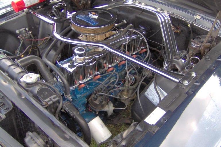 1971 Mustang 250 inline 6