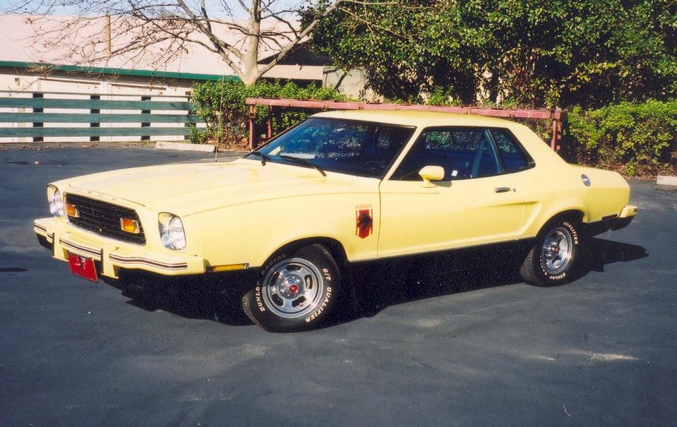 1976 Mustang Colors