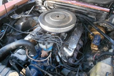 1978 Mustang 302 engine