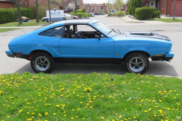 1978 Mustang Color Information