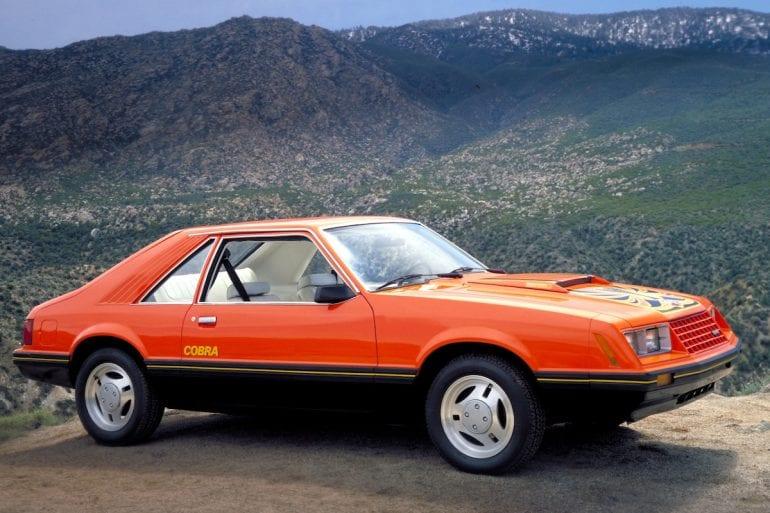 1979 Ford Mustang Cobra.