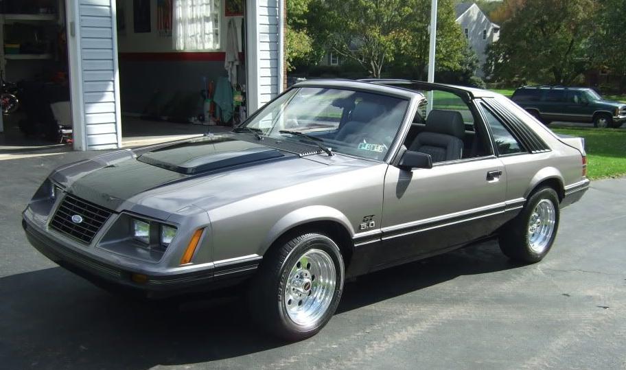 1983 Mustang Colors