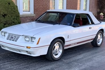 1984 Mustang Colors