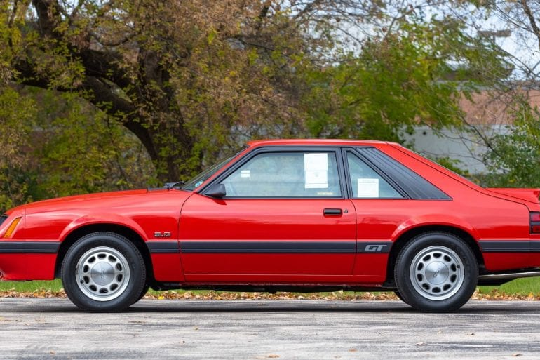 1985 Ford Mustang I4 Engine