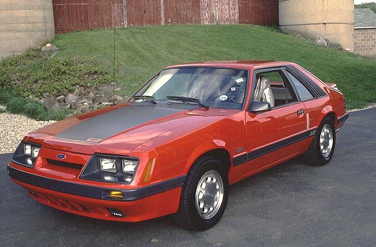 1985 Mustang Colors