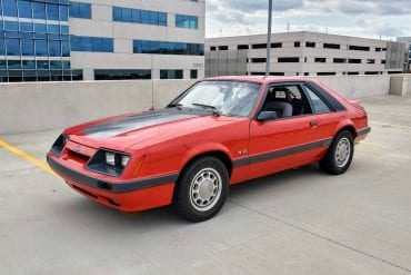 1986 Mustang Colors