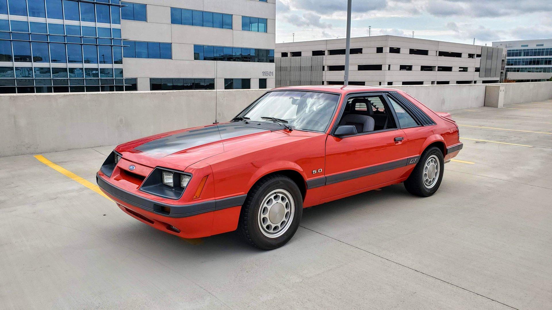 1986 Mustang Colors