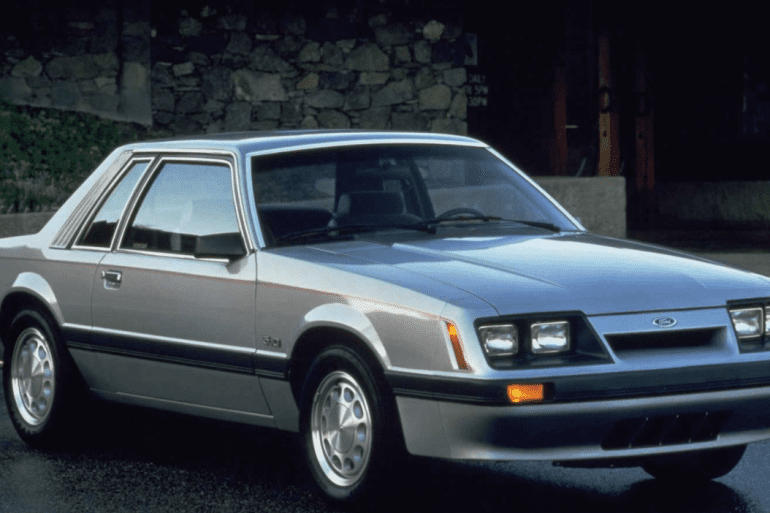 1986 Mustang Engine I4