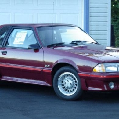 1987 Ford Mustang Engine I4