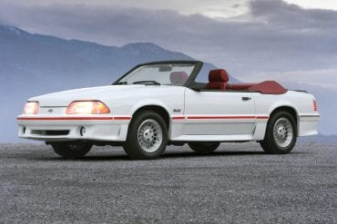 1987 Mustang Color Information