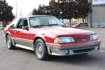1988 Mustang Color Information