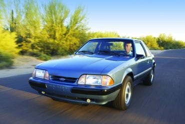 1989 Mustang Color Information
