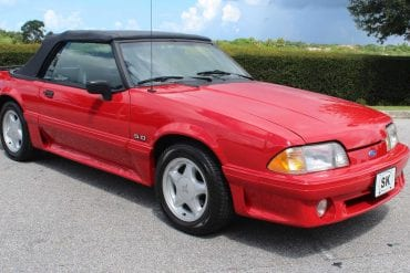 1992 Mustang Color Information